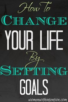 Do you have a hard time setting or sticking to them? Here's how to turn goals into reality with tips to keep you motivated & how to set reachable goals goal setting #goal