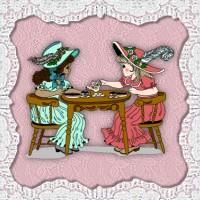 Victorian Dolls, Victorian Traditions, The Victorian Era, and Me: Will You Come To My Tea Party?