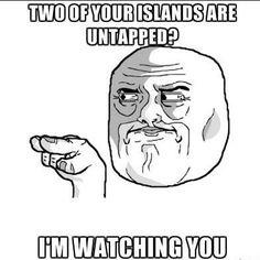 MTG islands internet memes funny