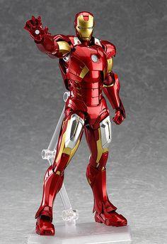 Figma Iron Man Mark VII - Chōdenji - A Giant Robot Blog