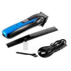 Pro Man & Children Electric Hair Trimmers Rechargeable Stainless Steel Hair Clipper Beard Trimmer comb AC Wall Charger Scissor