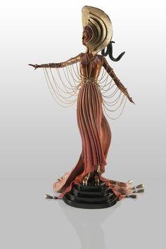 L'Orientale Bronze Sculpture by Erte (1892-1990)