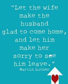 Good advice for married couples