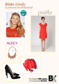 Blake Lively es fiel a su estilo bohemio y desenfadado sin necesitar la ayuda de ningún estilista. Te vamos a dar algunas pistas para ayudarte a seguir su estilo: Vístete con este vestido, bolso y zapatos de Poete y destaca el look con el collar de @Ali Harrison accesorios  Ve al enlace de @Soy Mujer hoy, pincha en el botón y descubre los productos. http://www.mujerhoy.com/belleza/belleza-vip/blake-lively-princesa-hollywood-775555042014.html