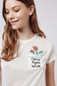 Cute Slogan Tee by Tee and Cake - Topshop