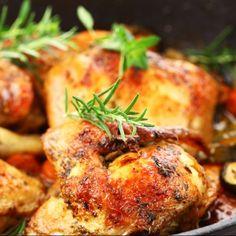 Balsamic Glazed Roasted Chicken