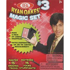 Ideal Ryan Oakes Magic Set 3 * Find out more about the great product at the image link. Magic Sets, Critical Thinking Skills, Magic Tricks, Public Speaking, Deck Of Cards, Self Esteem, The Magicians, Gifts For Kids, How To Make
