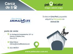 Evita que se extravíe o roben a tu #mascota adquiere tu Pet Locator con alguno de nuestros Distribuidores :)