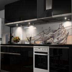 Küchenrückwand Folie selbstklebend Möbel & Wohnen Kuechenrueckwand ...