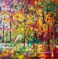 Julie Dumbarton forest scene