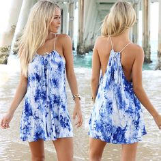 Sexy Women Summer Holiday Casual Boho Beach Cocktail Evening Party Dress S-XL #Unbranded #Sundress #Casual
