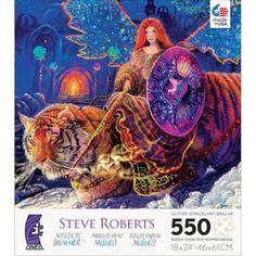Mystical Shimmer Emerald City Ceaco Steve Roberts Fantasy 550 Piece Puzzle #Ceaco