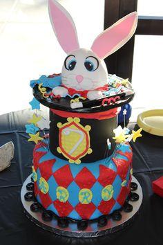 Magic-themed Birthday Cake