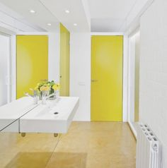 Architect: Sergi Pons - yellow  Location: Barcelona, Spain