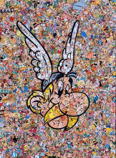 Mr Garcin – Astérix Collage | Geek Art – Art, Design, Illustration & Pop Culture ! | Art, Design, Illustration & Pop Culture !