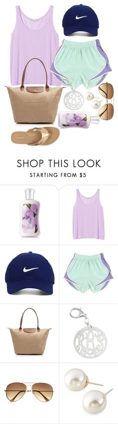 """you make all my screws come loose"" by beansprout15 ❤ liked on Polyvore featuring Monki, Nike Golf, Longchamp, H&M, Cezanne and Sperry"