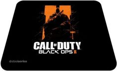 SteelSeries Qck COD® Black Ops II O.S Mouse Pad(Black)