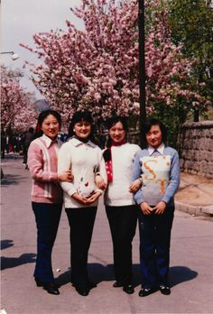 Friendly family in Beijing.
