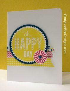SU Starburst Sayings Oh, Happy Day Washi