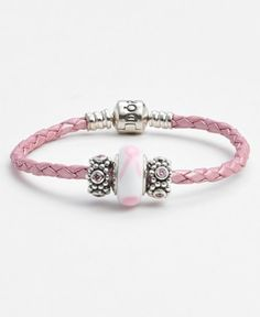 breast cancer awareness charm bracelet  http://rstyle.me/n/q9u4apdpe