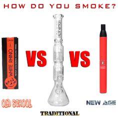 How do you smoke? #whiterhinoproducts #whiterhino