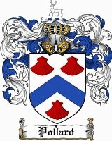 Pollard Coat of Arms / Pollard Family Crest
