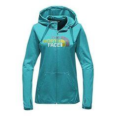 The North Face Women's Fave Lite Half Dome Full Zip Hoodie Sweatshirt