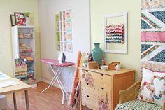 Take a Sewing Studio Tour with Pat Bravo #bernina #sewingstudio