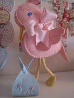 creative breathing stork!