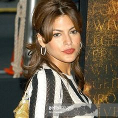 """""""I love every aspect of being a woman. I believe you should celebrate who you are"""" #Happybirthday to beautiful #model #actress #EvaMendes who today Mar5 turns #43yo.  Here's a great #photo of #Mendes captured at """"Troy"""" New York premiere  at the Ziegfeld Theatre - Arrivals #Manhattan May 2004  #cubanamerican #2fast2furious #ThePlaceBeyondThePines #Trainingday #Hitch #ryangosling #circabeauty #fashion #classy #sundayfunday #sexy #latinwoman #celebrity #instagood #pictures #photooftheday…"""