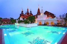 ภาพ :  สระน้ำ / จาก : Mandarin Oriental Dhara Dhevi Chiangmai / link : http://travel.edtguide.com/74284_mandarin-oriental-dhara-dhevi-แมนดารินโอเรียนทัลดาราเทวี-เชียงใหม่-โรงแรม