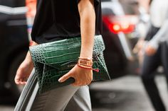 The 34 Most Epic Bags From NYFW #refinery29  http://www.refinery29.com/fall-handbags#slide21  Givenchy snakeskin. No words.