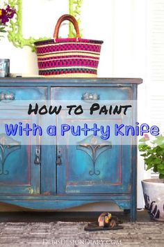 How to blend paint w