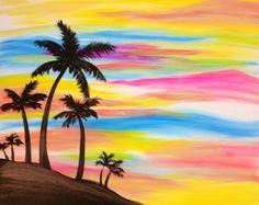 Reduced Price Beach Ocean Original Oil Painting Caribbean