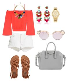 """Untitled #126"" by antoo-xoxo on Polyvore featuring STELLA McCARTNEY, Bebe, Ranjana Khan, Michael Kors, Talbots, Billabong, Le Specs and Givenchy"