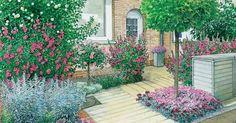 Häufig bereitet die Vorgartengestaltung Kopfzerbrechen – etwa, weil das Areal vor dem Haus nur wenige Quadratmeter groß ist. Wir zeigen Ihnen in