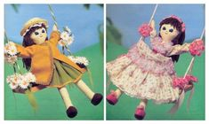 Susie Rag Doll and Clothes Vintage Diagram Sewing Pattern S10074