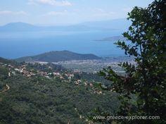 Village Makrinitsa in Mount Pelion Greece, Traveling, River, Explore, Mountains, Places, Nature, Outdoor, Trips