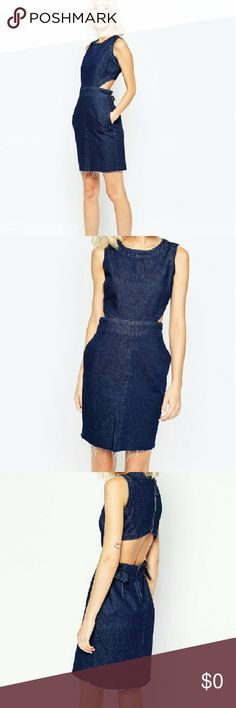 ??coming????Asos denim dress This is a asos denim jean dress that is very great quality denim get ready for spring ladies ASOS Dresses