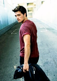 Josh Hutcherson. All I have to say is DAMN.