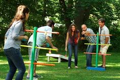 Photo: Room 5 Films | thisoldhouse.com | from How to Build a Ladder Golf Game Set