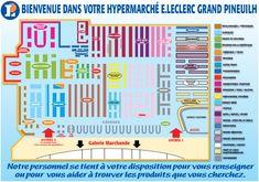 Plan de votre hypermarché – Centre commercial Grand Pineuilh – Pays Foyen