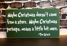 Grinch Christmas Decor by hautalacouture on Etsy, $35.00
