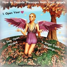 Decoding Angel Messages. Full Article here http://www.angelmessenger.net/blog/how-to-decode-angel-messages-in-3-easy-steps/
