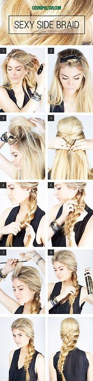 cute hair style, braid