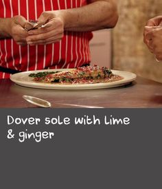 Dover sole with lime & ginger | This recipe is a very versatile one, and would work just as well with a variety of fish. Any sweet, meaty white fish, such as hake, cod and John Dory would make a good alternative, or you could try sea bass or bream fillets if you want a lighter option. If you're using bass or bream you can skip the oven stage, and simply fry them in the pan: start them off skin-side down, then cook for a few minutes on the flesh side.