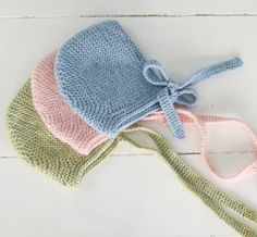 Capota de lana en punto bobo | Nottocbaby