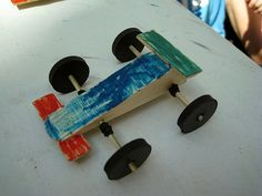Little wooden racer!