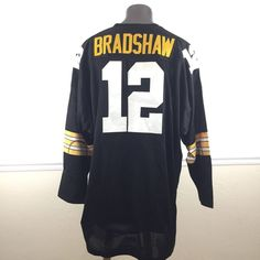 Pittsburgh Steelers Terry Bradshaw Throwback NFL Bicentennial Jersey Size  60 4XL 2957f3161