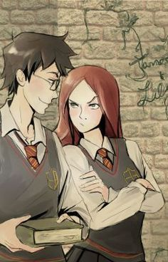 HP fan fiction, lily and james